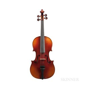 French Violin, Hugues Émile Blondelet, Mirecourt, 1925