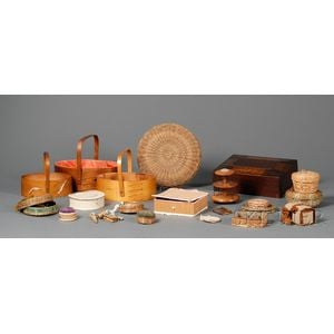 Group of Shaker-made Sewing Items