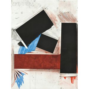 Joel Shapiro (American, b. 1941)      Untitled