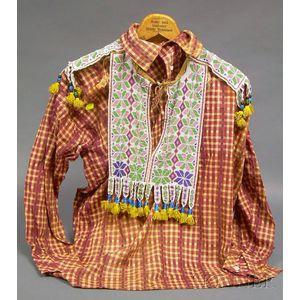 Great Lakes Beaded Shirt