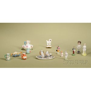 Group of Miniature Ceramic Items