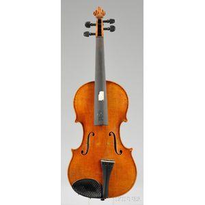 Mittenwald Violin, A. Schroetter, c. 1970