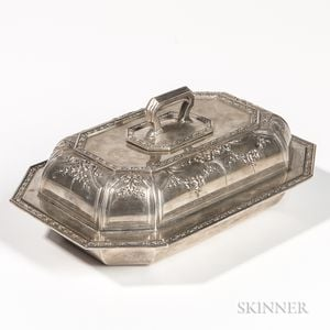 Black, Starr & Frost Sterling Silver Vegetable Tureen and Cover