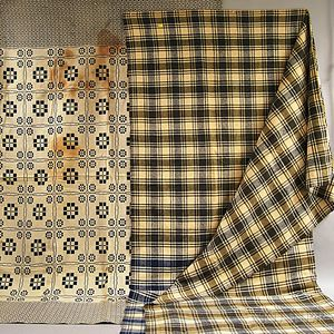 Two Hand-woven Blankets