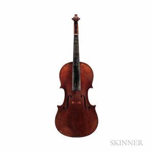 German Violin, Karl Herrmann, Markneukirchen