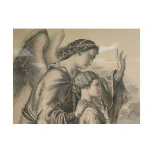 Framed Print of an Angel