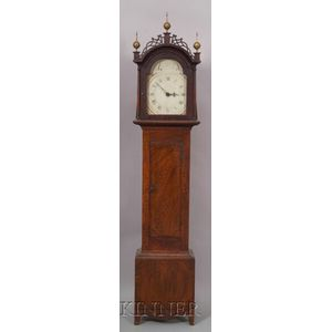 Paint-decorated Tall Case Clock