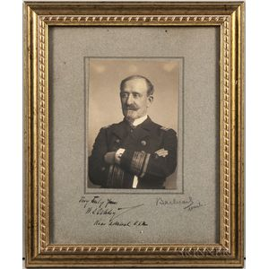 Schley, Rear Admiral Winfield Scott (1839-1911) Signed Photograph.