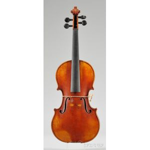 Markneukirchen Violin, Wilhelm Durrschmidt, 1960