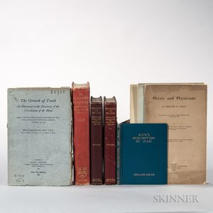 Osler, William (1849-1919) Four Books and Four Pamphlets.