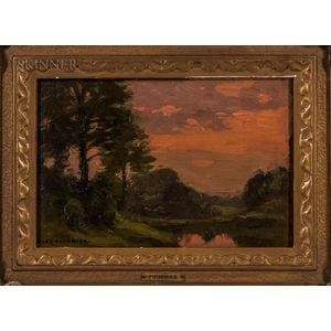 Alexis Jean Fournier (American, 1865-1948)      Summer Landscape.