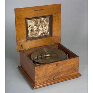 Polyphon 11-inch Disc Musical Box