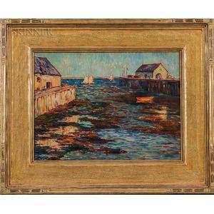 Albert Lorey Groll (American, 1866-1952)    Provincetown