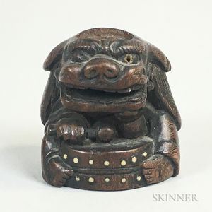 Carved Wood Netsuke