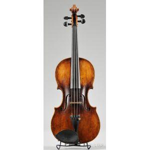 French Violin, c. 1880, Caussin Workshop