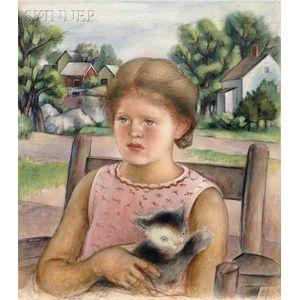 Simkha Simkhovitch (Russian/American, 1893-1949)      Portrait of the Artist