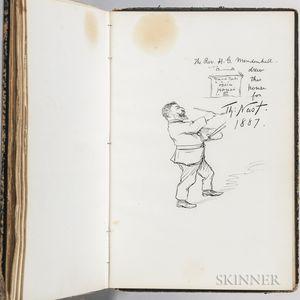 Autograph Album, 1860s-1880s.