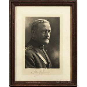 Pershing, General John J. (1860-1948) Signed Photograph.