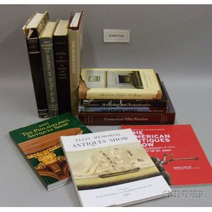 Collection of Americana Reference Books