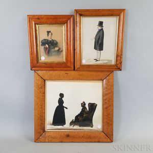 Three Framed Portraits