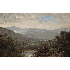William Louis Sonntag Sr. (American, 1822-1900)      Ossipee Valley, N.H.