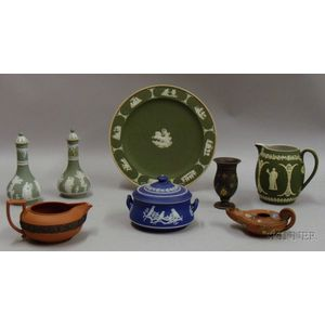 Eight Wedgwood Table Items