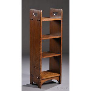 Gustav Stickley D-handle Open Bookstand
