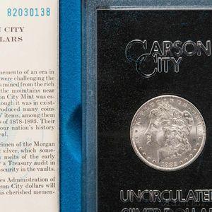 1882-CC GSA Morgan Dollar