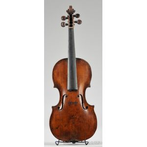 Tyrolean Violin, c. 1750