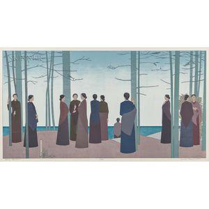 Will Barnet (American, 1911-2012)      Spring Morning