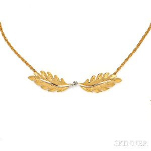 18kt Gold Necklace, Buccellati