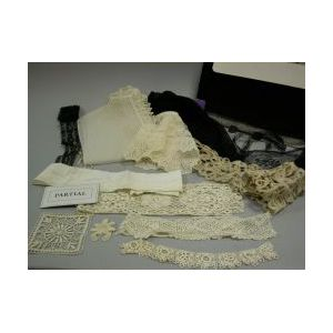 Collection of Lace and Cutwork Linens, Etc.