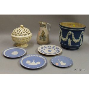Seven Wedgwood and Related Items