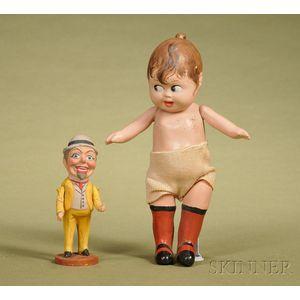 Two German Novelty Dolls