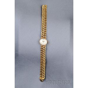 18kt Gold Wristwatch, Girard Perregaux