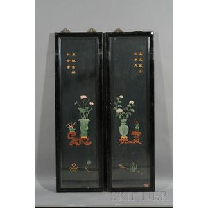 Two Inlaid Panels