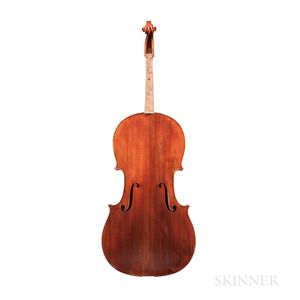 French Violoncello, Possibly the Workshop of Paul Bisch