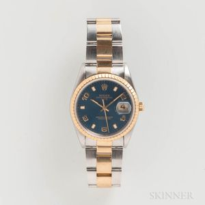 Rolex Two-tone Reference 15223 Wristwatch