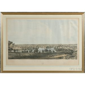 J.B. Bachelder, publisher (New York, 19th Century) LOWELL, MASS. Sketched from the Residence Thos. L. T...