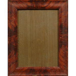 Grain-painted Rectangular Ogee Wooden Frame
