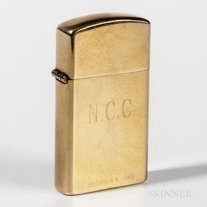 Zippo 14kt Gold Lighter