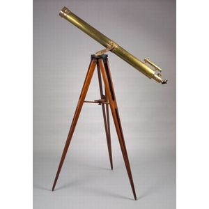 4-inch Astronomical Refracting Telescope by Brashear
