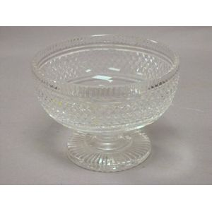 Waterford Colorless Cut Glass Footed Bowl.