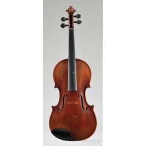 Modern German Violin, c. 1950, for William Lewis & Son
