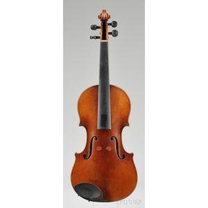 Markneukirchen Violin, Ernst Heinrich Roth, 1922