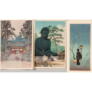 Three Shin Hanga   Prints