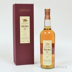 Brora 35 Years Old, 1 750ml bottle (oc)