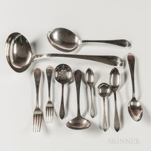 "Tiffany & Co. Sterling Silver ""Faneuil"" Pattern Sterling Silver Flatware"