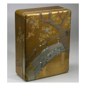 Lacquered Stationery Box