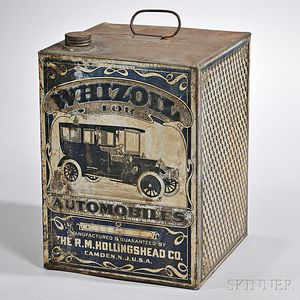 Five-gallon Lithographic Printed Whizoil Tin Can